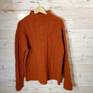 AEO Donegal Cable lambswool sweater